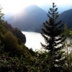 Озеро Рица - одно из самых живописных горных озер в мире