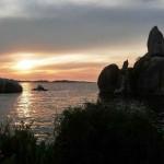 Озеро Виктория на закате. Это одно из самых красивых озер Африки
