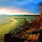 Озеро Тургояк на рассвете - красивое фото