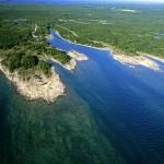 Озеро Гурон, входящее в систему Великих озер Северной Америки - одно из крупнейших озер Нового Света