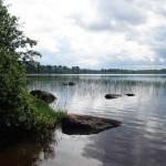 Озеро Вагатозеро в Карелии, в бассейне реки Шуи