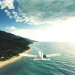 Самолет над озером Танганьика