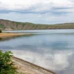 Белё - живописное озеро в Хакасии
