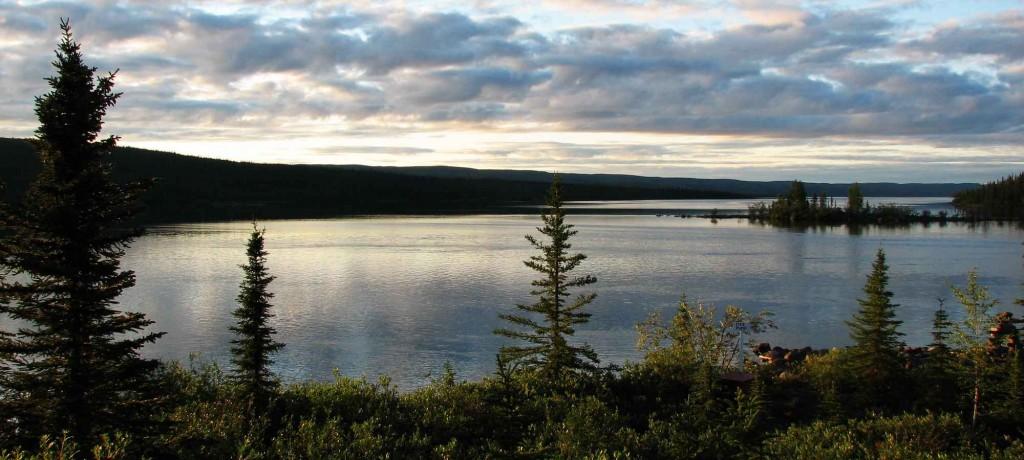 Большое Невольничье озеро - фото