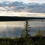 Раннее утро на Большом Невольничьем озере