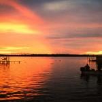 Озеро Маркайбо на закате