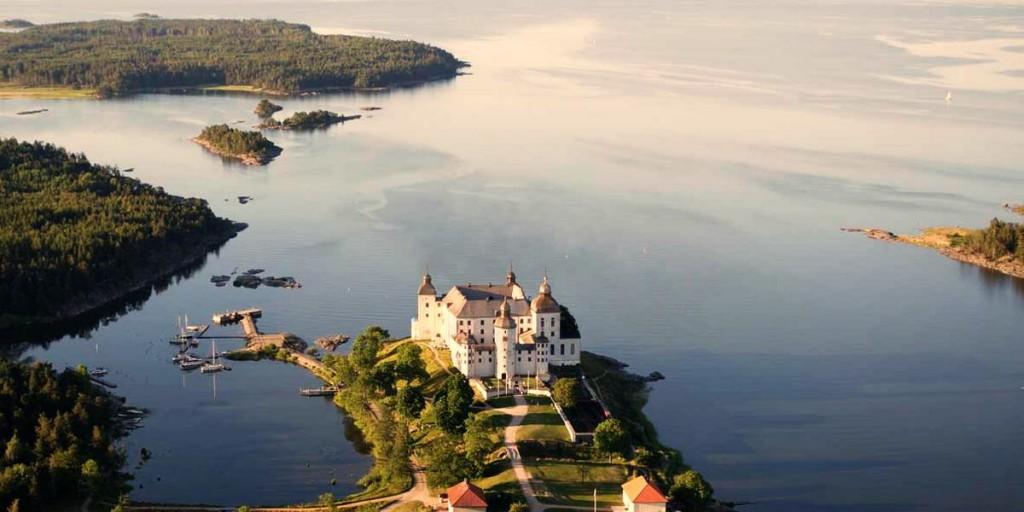Замок на озере Венерн