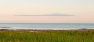 Рассвет на Кулундинском озере
