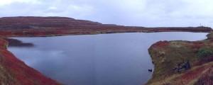 Озеро Могильное в Мурманской области