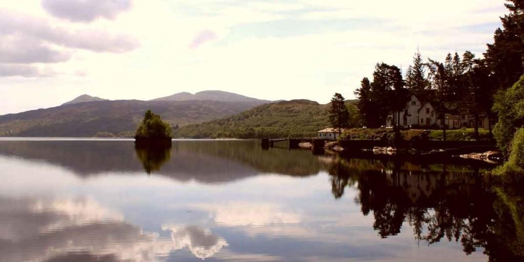 Озеро Лох-Ломонд - фото