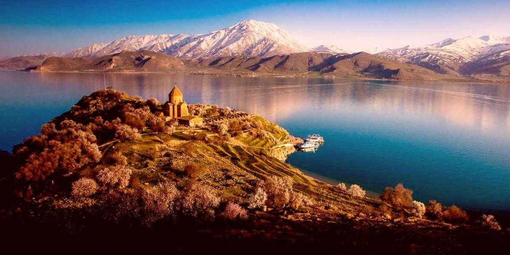Фотография озера Ван
