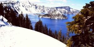 Озеро Крейтер зимой