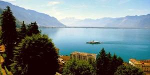 Женевское озеро - красивый вид