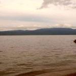 Индонезийское озеро Матано