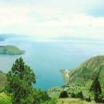 Индонезийское озеро Тоба