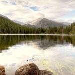 На берегу Большого Медвежьего озера