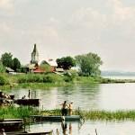 Красивое российское озеро Неро