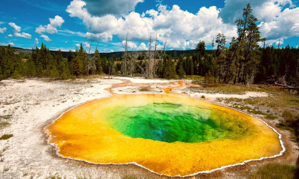 Озеро Утренней Славы в Йеллоустоском парке